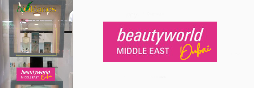Beautyworld middle east dubaï bioléanes au salon